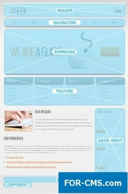 High-tech IT Joomla Template