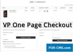 VP One Page Checkout for VirtueMart 5.6