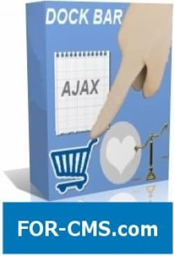 Ajax basket + comparison of goods + dockbar for JoomShopping