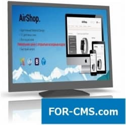 AirShop - premium the virtuemart 3 template