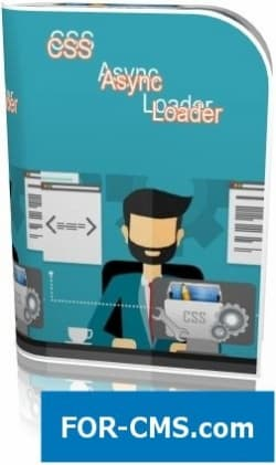 The asynchronous loader of styles for Joomla