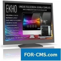 EKHO Responsive Unique шаблон Joomla