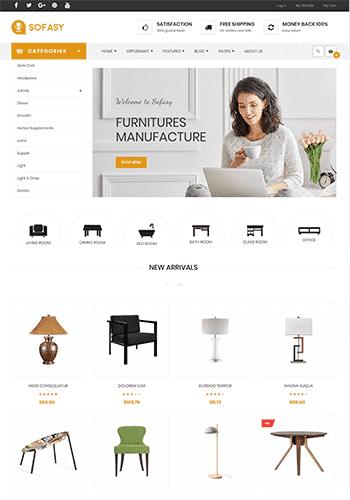 Vina Sofasy v1.0 - premium template of online store