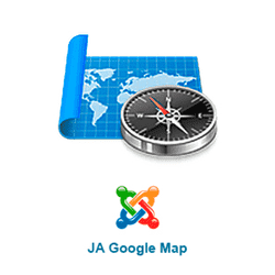 JA Google Map v2.6.5 - plug-in of charts from google for Joomla