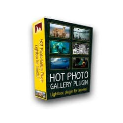 Hot Photo Gallery PRO v3.0.2 - plug-in of photo of gallery for Joomla