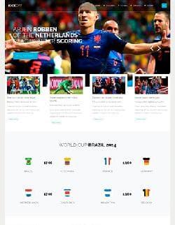 YJ Kickoff v1.0.1 - шаблон сайта чемпионата по футболу (Joomla 3.x)