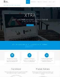 JP Xtra v1.0.002 - современный бизнес шаблон для Joomla