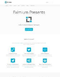 YJ Eximium v1.0 - бесплатный шаблон от Youjoomla.com