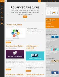 Pare v1.0 - блоговый шаблон для Joomla