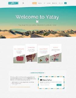 Yatay v1.0 - адаптивный шаблон для Joomla