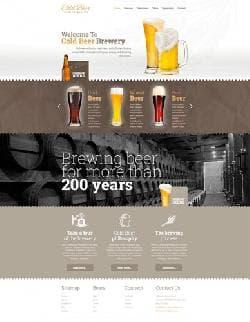 Hot Beer Template v1.4.1 - шаблон сайта о пиве для Joomla