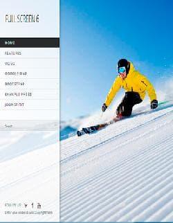 Full Screen  v2.0 - полноразмерный шаблон для Joomla