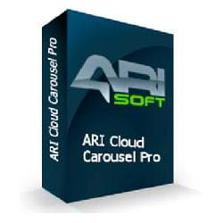 ARI Cloud Carousel Pro v1.1.0 - 3D roundabout of images for Joomla