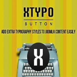 Xtypo Button v2.5 - additional styles of registration of content