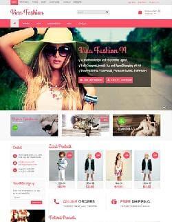 Vina Fashion II v1.2 - бесплатный шаблон для JoomShopping