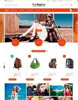 Vina BagShop v1.3.0 - шаблон интернет магазина сумок для Joomla