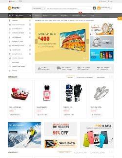 SJ Market v1.2.3 - шаблон интернет магазина на Virtuemart