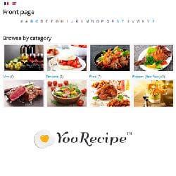 YooRecipe v5.0.0 rev945 - книга рецептов для Joomla
