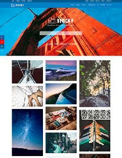 JXTC Stocky v3.4.0 - шаблон фотографа для Joomla