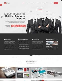 Aaika vV8 - шаблон для Joomla с Themeforest.net №11937707