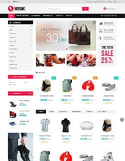 Vina Veneno v1.4 - template of online store for JomShopping