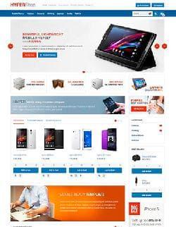 VM Hyper Shop v3.8.2 - шаблон интернет магазина для Joomla