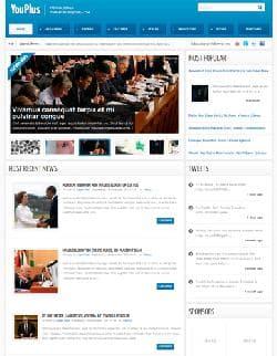 YJ YouPlus v1.0.2 - шаблон сайта для Joomla