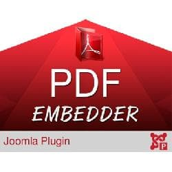 PDF Embedder v - embedding of the PDF document in the articles Joomla