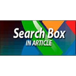 Search Box In Article v - search box insert in the article Joomla