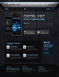 WP Catalyst v1.0.7 WARP 6.4.8 - a premium a template for Wordpress
