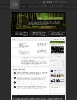 S5 Cyan v1.0 - шаблон блога для Joomla