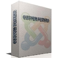 Custom Filters v2.5.1 - the adjusted set of filters for Joomla
