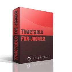 Timetable For Joomla v1.6 - the schedule for Joomla