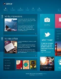 YOO Subway v1.0.4 - шаблон блога для Joomla