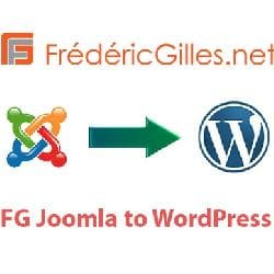 FG Joomla to WordPress v3.23.1 - migration with Joomla on Wordpress