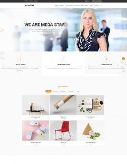 Megastar v1.1.1 - бизнес шаблон для Joomla