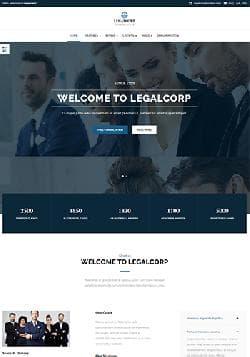 YJ LegalCorp v1.0.0 - премиум шаблон для юридической компании