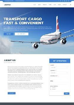 TZ Logistics v1.1 - премиум шаблон для логистической компании