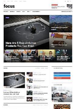 JA Focus v1.0.0 - премиум-шаблон новостного сайта