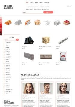 OS Building Materials v4.5 - premium template of construction online store