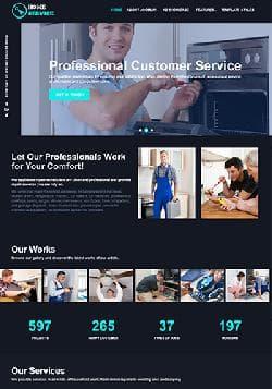 VT HomeService v1.2 - премиум шаблон сайта сервисных услуг