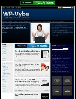 WP-Vybe v2.0 - a template for Wordpress