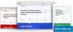 Interstellar v1.0.1 от RocketTheme