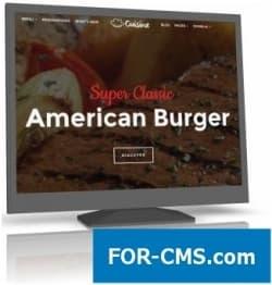 JoomShaper Cuisine v1.3 - шаблон ресторана