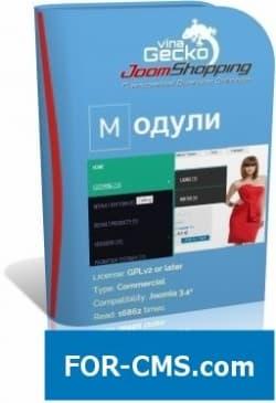VinaGecko модули для JoomShopping