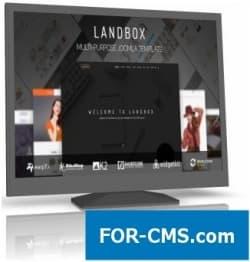 Landbox - многоцелевой шаблон Joomla