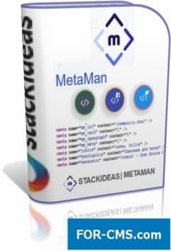 MetaMan - steering of metadata in Joomla