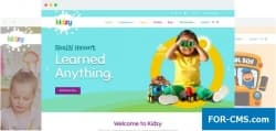 JoomShaper Kidzy v1.4 - шаблон детского сада