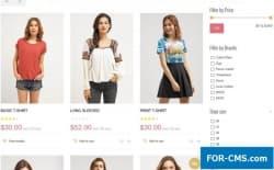 JM Trendy J2Store - шаблон одежды