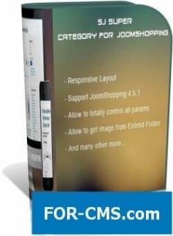 SJ Super Category for JoomShopping